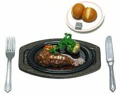 画像1: [ファミレス2] 2.ステーキ