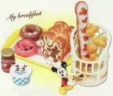 [ミッキー&ミニー SWEETベーカリー] 2.朝食はシンプルに