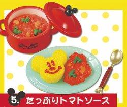 画像1: [ミッキーマウス レトロキッチン] 5.たっぷりトマトソース