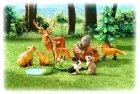 クローズアップ!1: [動物図鑑4 森や草原の仲間たち] 2.アカシカ(子)