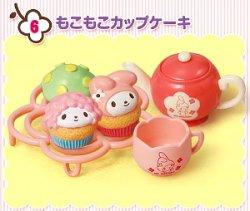 画像1: [MY MELODY おうちカフェ] 6.もこもこカップケーキ