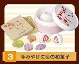 [エキナカスイーツ] 3.手みやげに桜の和菓子