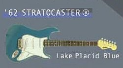 画像1: [FENDER GUITAR] 4.'62 STRATOCASTER(Lake Placid Blue)