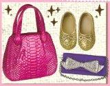 [おでかけ靴バッグ] 3.キラキラでゴージャス☆