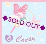 Sale [ミニーマウス ジュエルスイーツチャーム] 4.Candy
