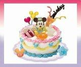 [ディズニー デコケーキ] 1.ミッキーマウス
