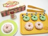 [ぷちドーナッツ] 7.ストロベリードーナッツ&かえるドーナッツ