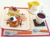 [カフェdeケーキ] 6.カラフルケーキセット