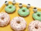 クローズアップ!1: [ぷちドーナッツ] 7.ストロベリードーナッツ&かえるドーナッツ