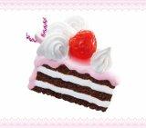 [いちご大好きマスコット] 11.ココアショートケーキ
