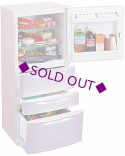 画像1: [専用ディスプレイ] ぷち冷蔵庫 たっぷりさん(ピンク)
