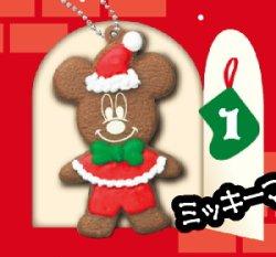 画像1: [ディズニー クリスマス クッキー《季節限定品》] 1.ミッキーマウス
