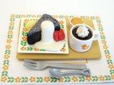 [カフェdeケーキ] 5.しっとりガトーショコラセット