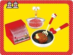 画像1: [ハローキティ お料理だいすき!] 1.こねこねハンバーグ