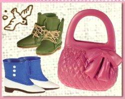画像1: [おでかけ靴バッグ] 1.古着の街でお買い物