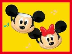 画像1: [ディズニー 食器コレクション] 1.フェイスマグ(ミッキー&ミニー)