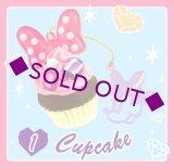 Sale [ミニーマウス ジュエルスイーツチャーム] 1.Capcake
