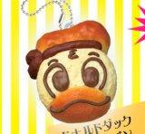 [ふにふにパンマスコット] 3.ドナルドダック メロンパン